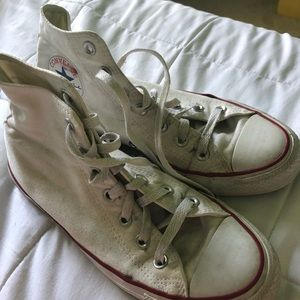 HighTop White Converse